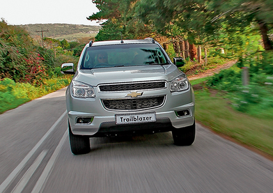 Chevrolet Trailblazer. Полсвета за коня